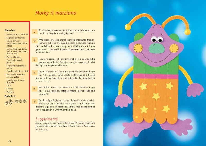 Famoso Edizioni del Borgo - Attività per bambini con le stecche di legno IG77