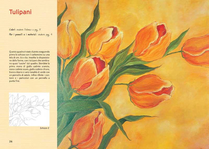 Edizioni del borgo dipingere con i colori ad olio for Dipinti ad olio fiori
