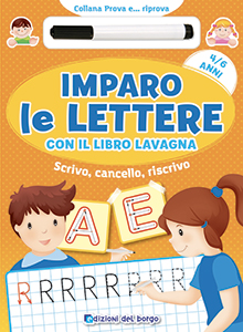 Imparo le lettere con il libro lavagna