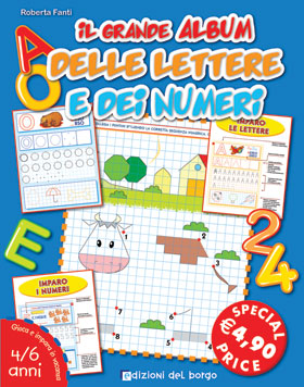 Il grande album delle lettere e dei numeri