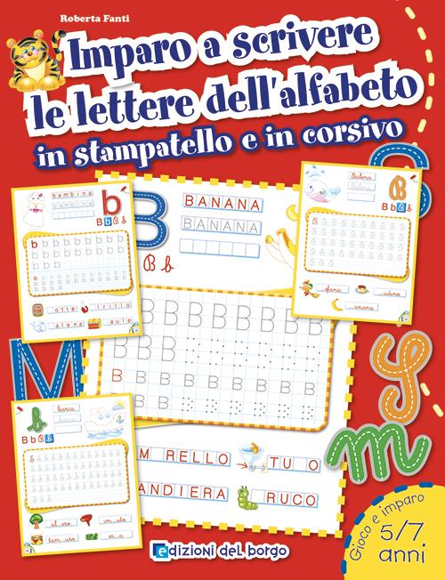 Imparo a scrivere le lettere dell'alfabeto