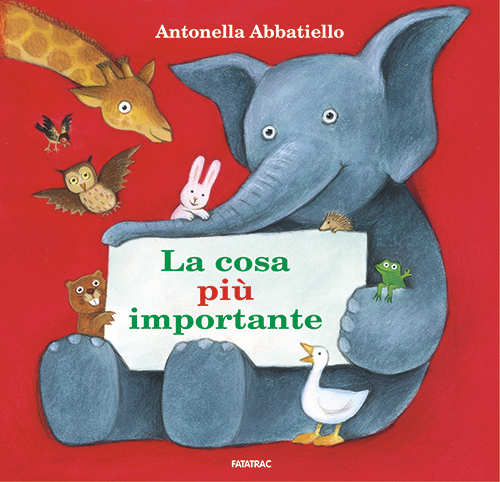 La cosa più importante Book Cover