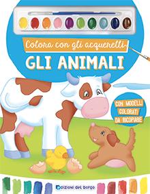 Colora con gli acquerelli - Gli animali