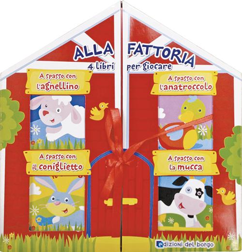 Alla fattoria - 4 libri per giocare