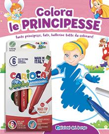Colora le principesse