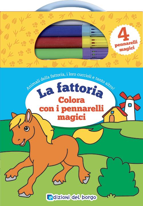 La fattoria Colora con i pennarelli magici