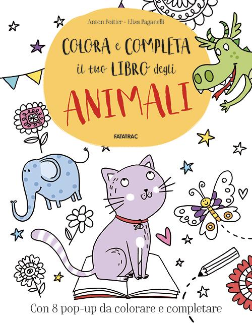 Colora e completa il tuo libro degli animali<br />