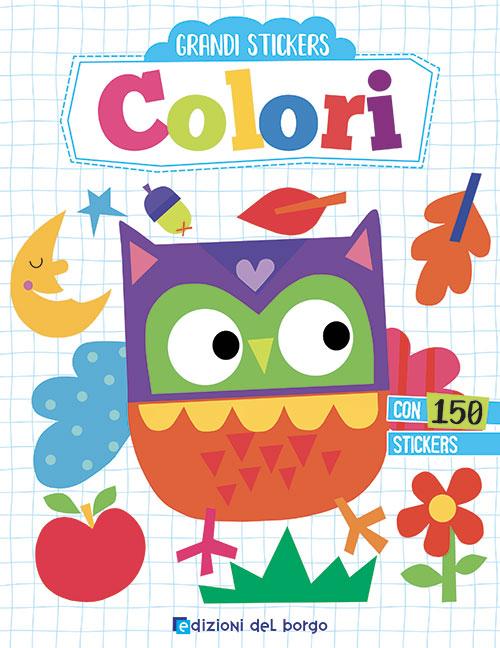 Grandi stickers - Colori