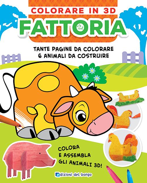 Colorare in 3D Fattoria