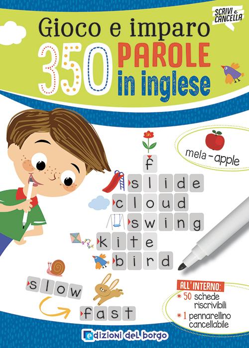 Gioco e imparo 350 parole in inglese
