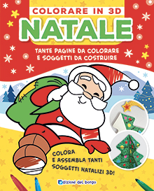 Colorare in 3D Natale