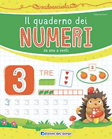 Il quaderno dei numeri da 1 a 20