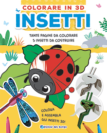 Colorare 3D - Insetti