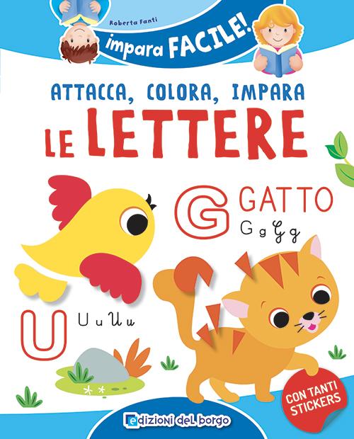 Attacca colora impara le lettere