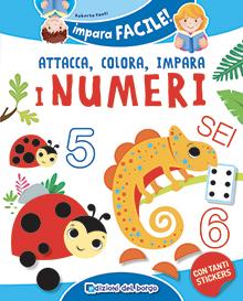 Attacca colora impara i numeri