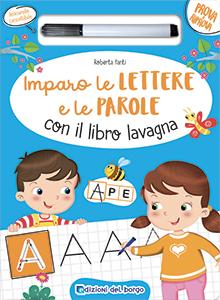 Imparo le lettere e le parole con il libro lavagna